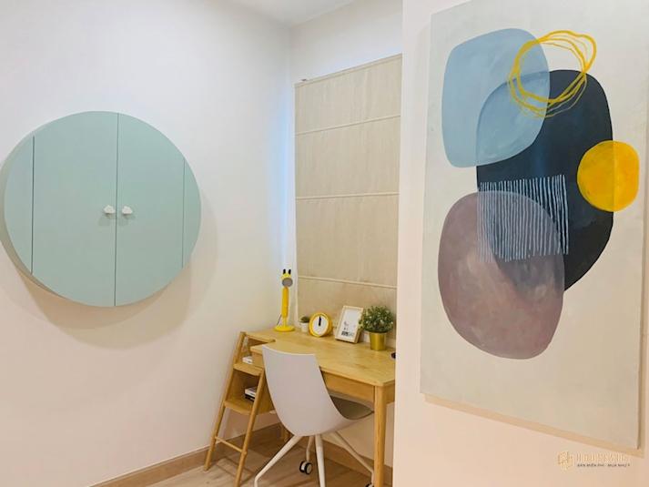 Nhà mẫu căn hộ New Galaxy -phòng ngủ