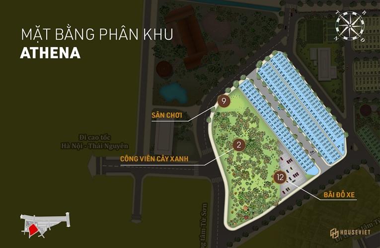 Phân khu Athena - Landora Aroma Bắc Ninh