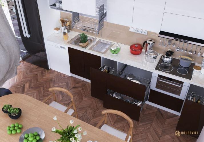 Phong thuỷ nhà bếp