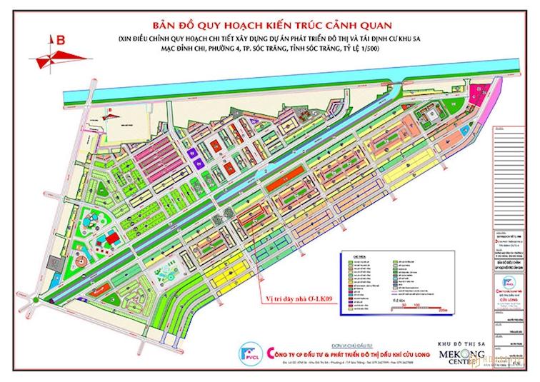 Mặt bằng dự án Mekong Centre