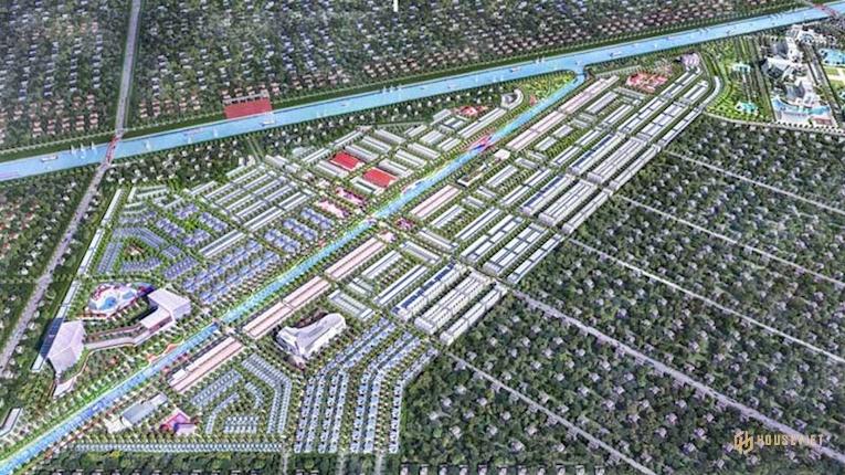 Phối cảnh khu đô thị Mekong Centre