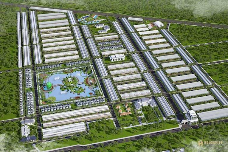 Mặt bằng dự án Cà Mau New City