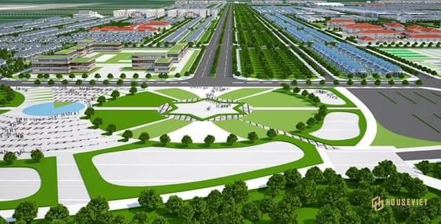quy hoạch phối cảnh tổng thể khu đô thị công nghiệp VSIP III