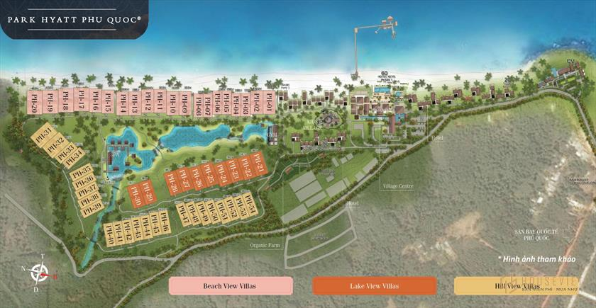 Dự án Park Hyatt Phú Quốc | Bảng giá và ưu đãi mới nhất 2021