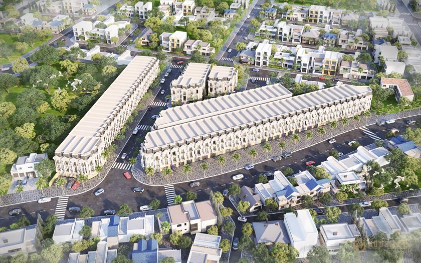 Giá bán dự án nhà phố Royal Town Dĩ An mới nhất 2021