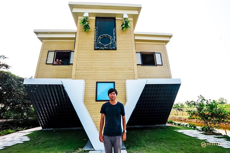'Độc nhất vô nhị' miền Tây: Ngôi nhà 'chổng ngược' giữa làng hoa Sa Đéc