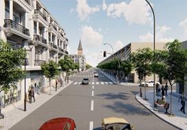 """""""Paris in Binh Minh"""" toả sáng với phiên bản giới hạn nhà phố thương mại mặt tiền đường Ngô Quyền"""