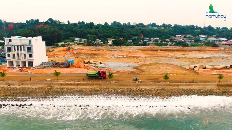 Tiến độ dự án Hamubay Phan Thiết Bình Thuận, cập nhật chi tiết mới nhất