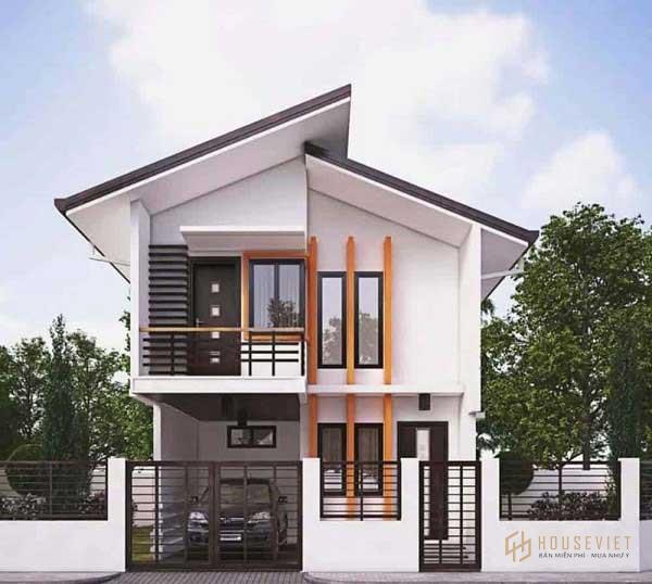 Những mẫu nhà 2 tầng 700 triệu đẹp nhất trong năm 2021