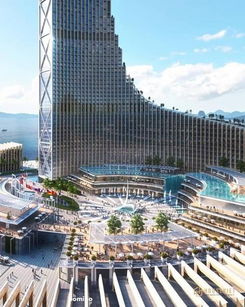 Loạt ảnh 3D của tháp biểu tượng Domino cực chất và khiến dân mạng xôn xao