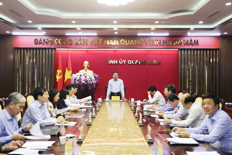 Ban Thường vụ Tỉnh ủy Quảng Ninh làm việc với Tập đoàn Vin Group