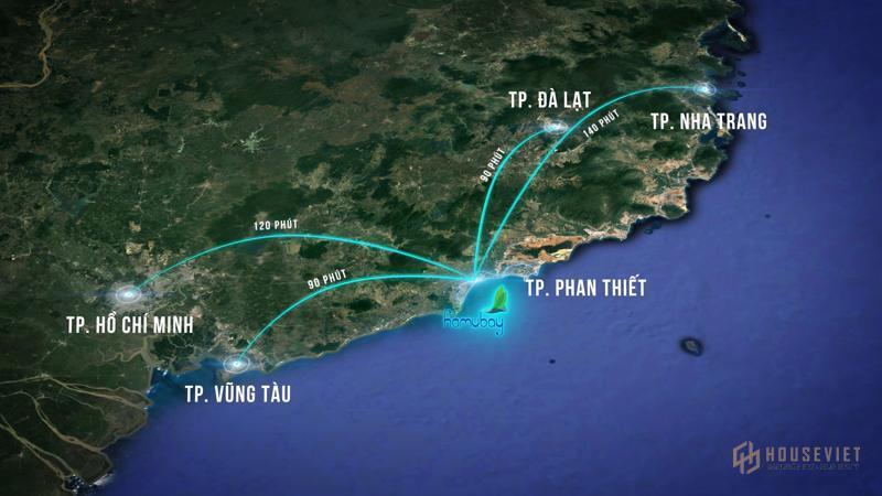 Hamubay: Dự án đắt giá trung tâm thành phố biển Phan Thiết
