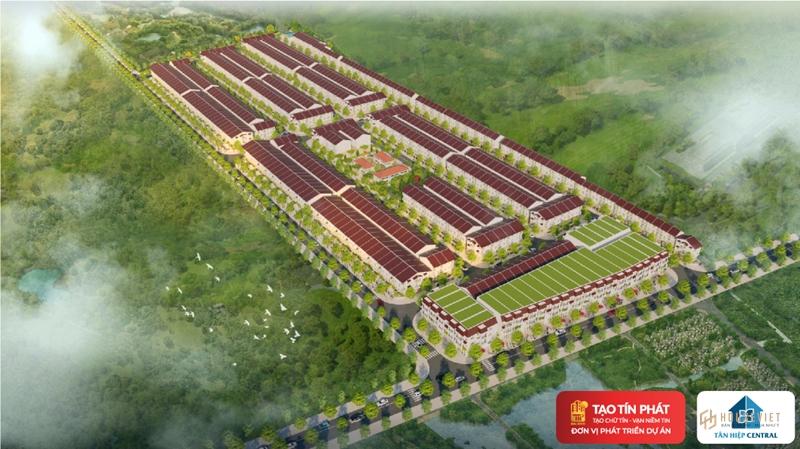 Review dự án Tân Hiệp Central: Đất nền sổ đỏ, hạ tầng hoàn thiện