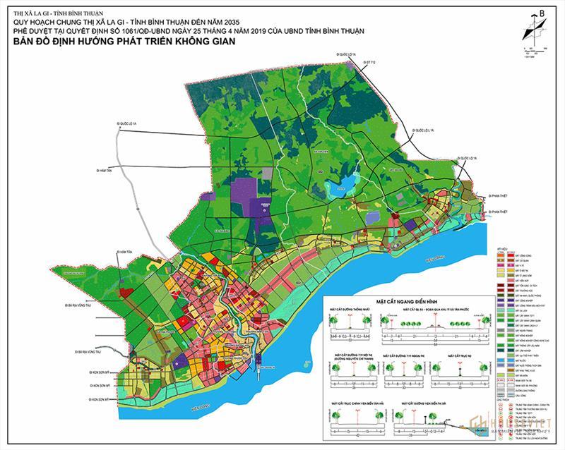 Quy hoạch thị xã La Gi tỉnh Bình Thuận