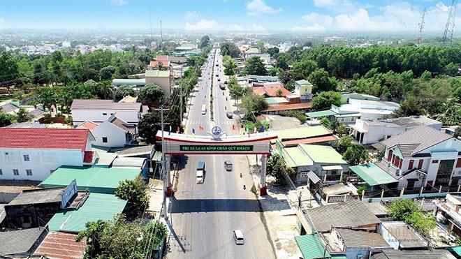 Hàng loạt các công trình hạ tầng được đầu tư, tạo bệ phóng cho La Gi lên thành phố