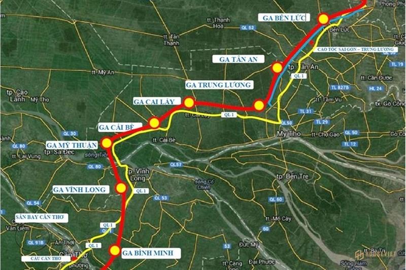 Đường sắt TPHCM - Cần Thơ sẽ tăng sức cho kinh tế ĐBSCL