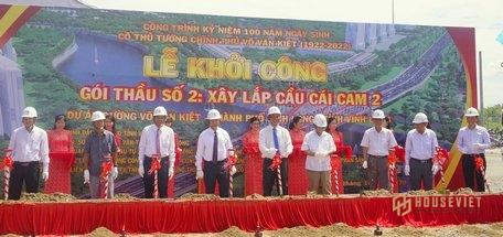 Vĩnh Long khởi công cầu Cái Cam 664 tỉ đồng