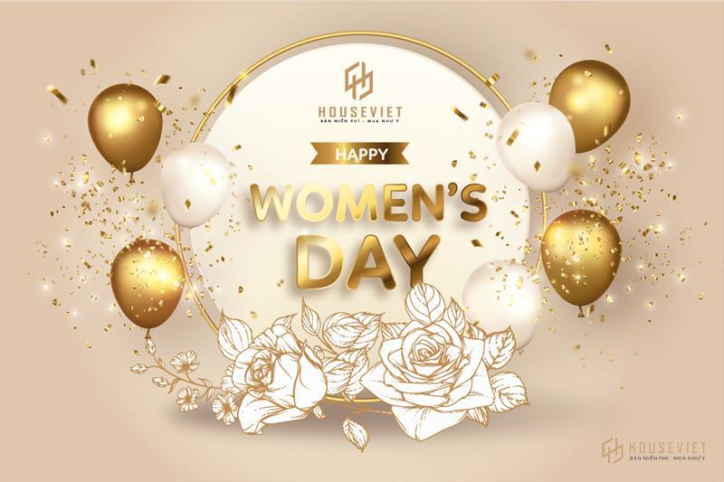 House Viet gửi lời chúc đến các chị em phụ nữ ngày 20/10 nhiều niềm vui, hạnh phúc