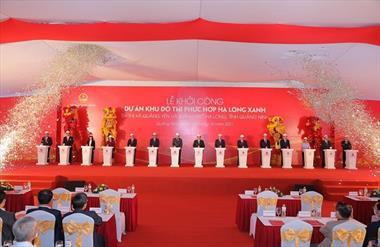 Chính thức khởi công siêu dự án Hạ Long Xanh 10 tỷ USD