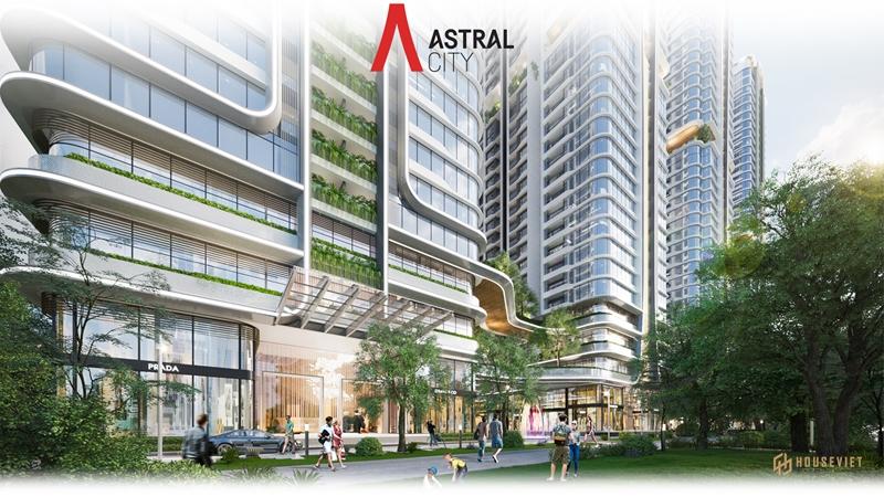 """Kiến trúc """"dẫn sáng, đón gió"""" tại toà tháp Astral City"""