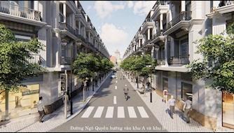 Nhà phố thương mại chợ Bình Minh gây ấn tượng với mặt tiền rộng tới 7.5m