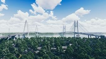 Thi công cầu Mỹ Thuận 2: Thỏa ước mơ hơn 20 triệu dân ĐBSCL