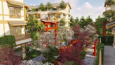 Cơ hội sở hữu đầu tư nghỉ dưỡng căn hộ ngoại ô full nội thất tại khu lõi khoáng nóng 5 sao
