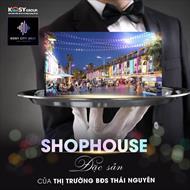 Shophouse kosy city beat thái nguyên đón đầu quy hoạch giá chỉ 22.6tr/m2