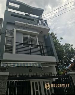 Nhà 2 tầng hẻm Nguyễn Chánh Sắt, P13, đất 4x14, giá 5.3 tỷ