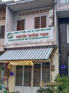 Bán nhà mặt tiền đường Đàm Thận Huy, quận Tân Phú, 90m2, 2 tầng, 9.6 tỷ