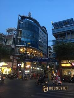 Nhà góc 2 mặt tiền Nguyễn Gia Trí 80m2 7 tầng 35 tỷ
