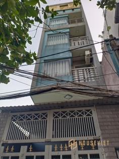 Bán nhà 2 mặt hẻm xe hơi, 94m2, 6 tầng thang máy, phường Hòa Thạnh, Tân Phú, 11 tỷ
