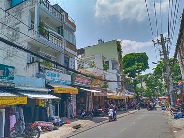 Bán nhà mặt tiền đường Phú Thọ Hòa, quận Tân Phú, 148m2, 3 tầng, 28 tỷ