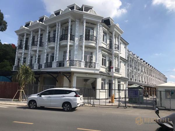 Nhà Mặt Tiền Nguyễn Thị Khắp- Dĩ An ( 1 trệt 2 lầu ) chỉ cần 1tỷ350 là nhận nhà