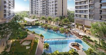 Anderson Park, 3PN diện tích 93m3, giá 3,3 tỷ, hoàn thiện cao cấp , thanh toán 1%/ tháng