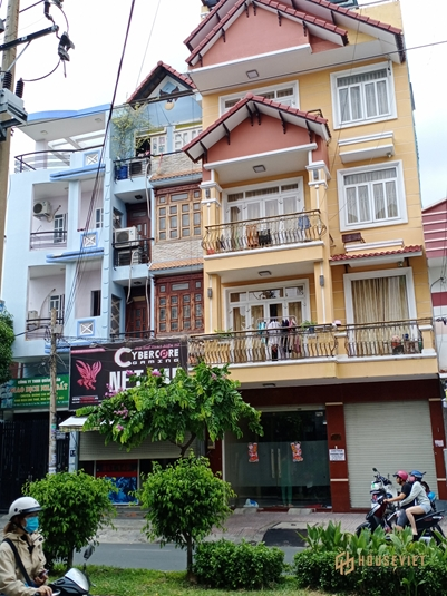 Bán nhà 5 tầng, mặt tiền đường Nguyễn Cửu Đàm, phường Tân Sơn Nhì, Tân Phú, 13 tỷ