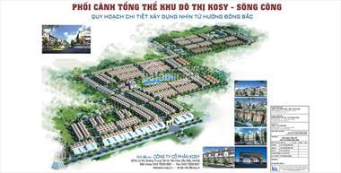 Đất nền sổ đỏ khu đô thị Kosy TP Sông Công, giá thấp hơn thị trường Lh : 0981 595 283
