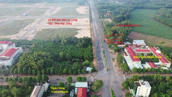 Đất mặt tiền Nguyễn Hữu Cảnh trung tâm Huyện Nhơn Trạch cực hot