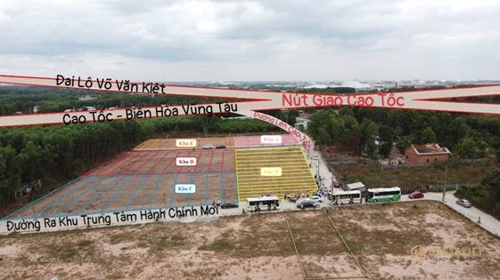 Đất nền ngay Trung tâm Hành chính Phường Hắc Dịch, KDL Suối Nhum, Sổ đỏ, Thổ cư, giá rẻ