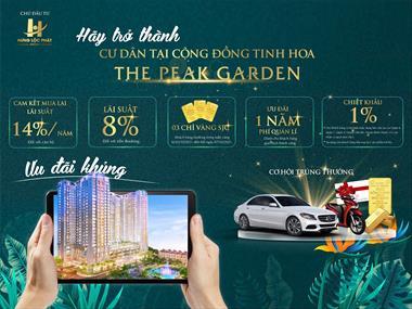 The Peak Garden trung tâm Phú Mỹ Hưng Quận 7 chính thức mở bán. Cam kết lãi suất 14%/năm