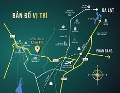 Đất nền huyện Lâm Hà, TT Đinh Văn, Lâm Đồng 140m2