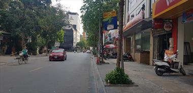 Bán nhà mặt phố Trương Công Giai Cầu Giấy rộng 10m kinh doanh vỉa hè 45 tỷ.