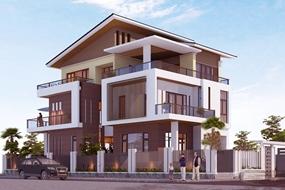 Cần bán biệt thự đơn lập khu NO7, 3 mặt tiền khu đô thị Đặng Xá, Gia Lâm.