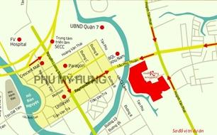 Bán nền biệt thự 200m2 The Everrich 3 ngay cầu Phú Thuận PMH Quận 7