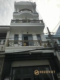 Bán nhà MT đs 6 Lê Văn Qưới, Bình Tân. 4x12m. Đúc 3 lầu. Giá 5.4 tỷ