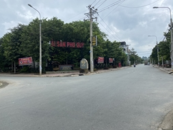 Bán lô đất dt 132m2 mặt tiền khu dân cư Song Ngữ Lạc Hồng độc quyền và duy nhất