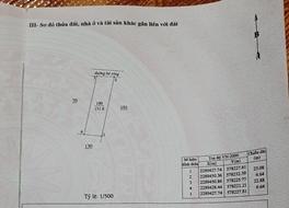 Tôi bán đất mặt Bờ Hồ Hòa Xá, Hà Nội 151,6m2*2,5 tỷ, ô tô đỗ cửa. SĐCC