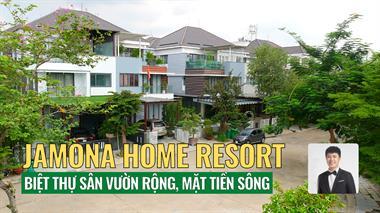 Bán đất biệt thự song lập Jamona Home Resort Thủ Đức, 250m2, hướng Đông Nam