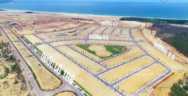 Bán đất biển tp. quy nhơn, nhơn hội new city pk4 giá chỉ 1 tỷ 350. lh 0947875739