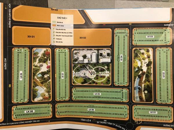 Bán 100m2 đất sổ đỏ ngay cụm công nghiệp tân an giá đầu tư 22 triệu/m2